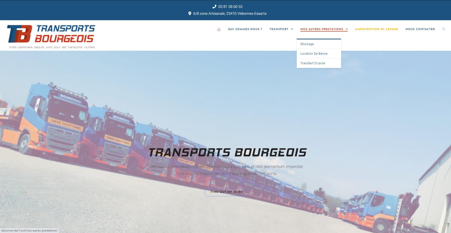 Transports Bourgois